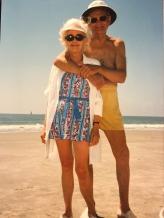 Joe and Pop on beach