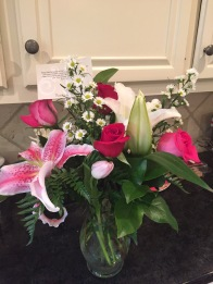Mother's Day morning, 9 AM delivery from my girl.