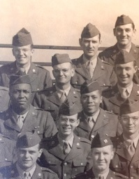 Cadet Mattingly, 4th row, left of center.