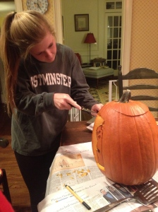 Traditional carving night!