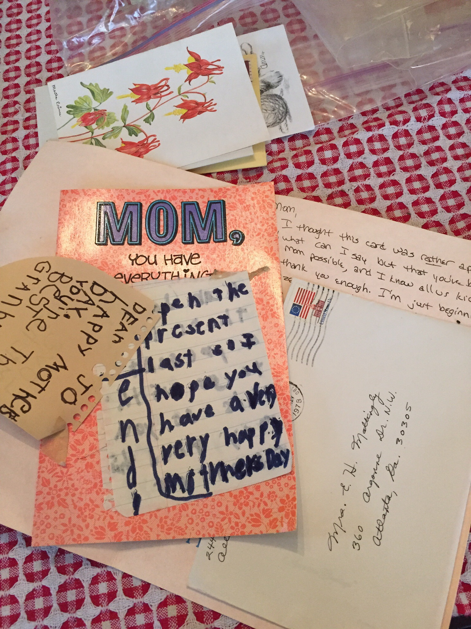 Letter Writing – My Mother s Attic