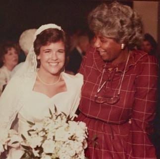 Mary and I, May, 1984.