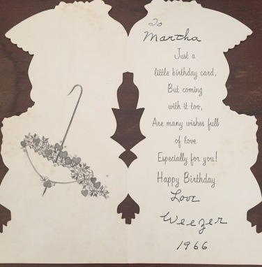 ... for my 6th birthday.